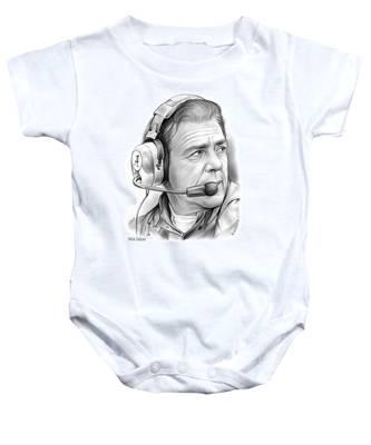 Nick Saban Baby Onesie