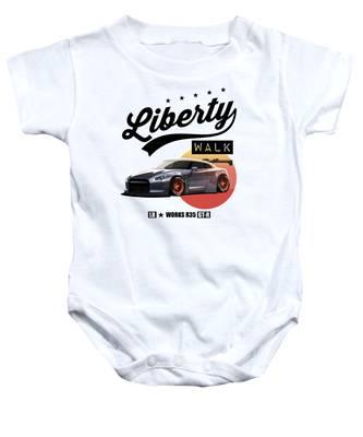 Skyline Drive Baby Onesies