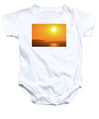 Oregon Sunrise Baby Onesie