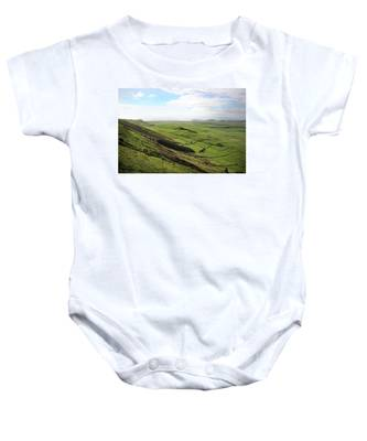 Over The Rim On Terceira Island, The Azores Baby Onesie