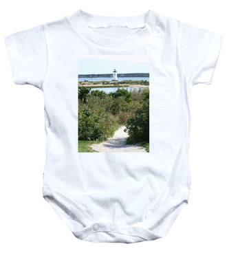 Path To Edgartown Lighthouse Baby Onesie