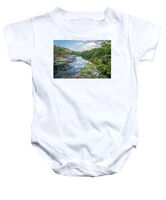 River Views In Negril, Jamaica Baby Onesie