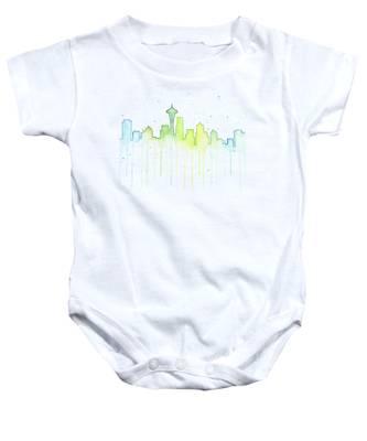 sale retailer e3891 73751 Seattle Seahawks Baby Onesies | Fine Art America