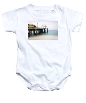 Softly On The Pier Baby Onesie