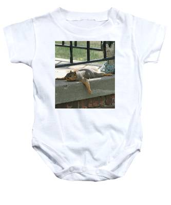 Someone There Baby Onesie