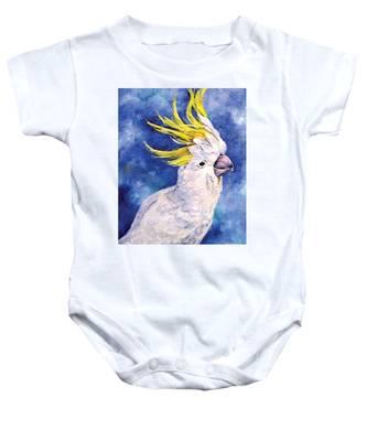 Sulphur-crested Cockatoo Baby Onesie