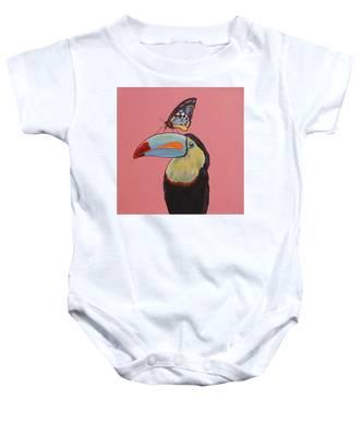 Talula The Toucan Baby Onesie