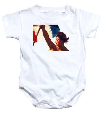 Tee Shirt Vive La France Liberty Weeps Baby Onesie