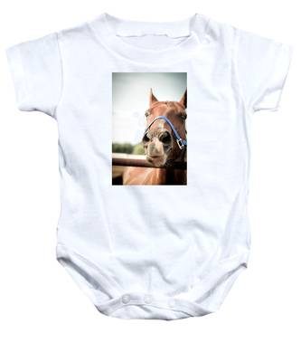 The Horse's Mouth Baby Onesie