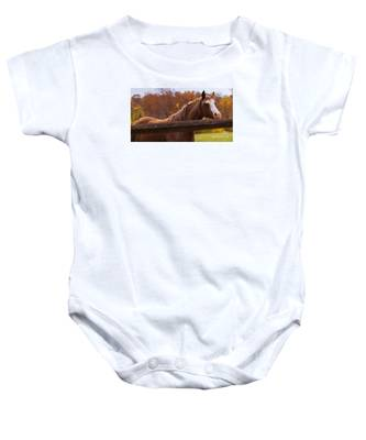 Waiting For You Baby Onesie