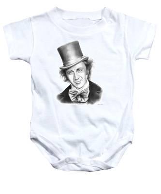 Willy Wonka Baby Onesie