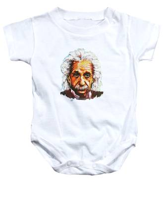 Albert Tribute Baby Onesie