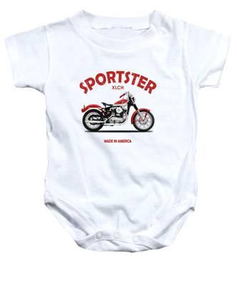 Harley Davidson Baby Onesies