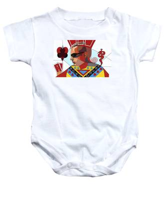 The Oracle Poker Player Baby Onesie