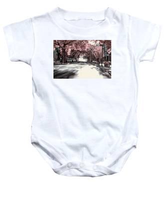 Empty Street Baby Onesie