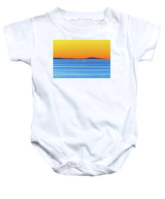 Golden Sunset Series I I Baby Onesie