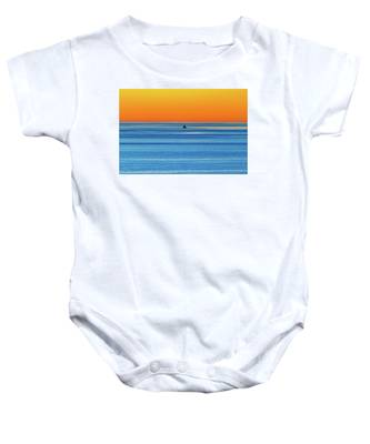 Golden Sunset Series I I I Baby Onesie