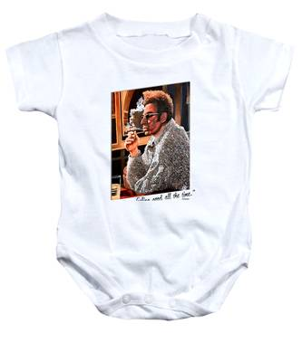 Here's To Feeling Good All The Time Baby Onesie