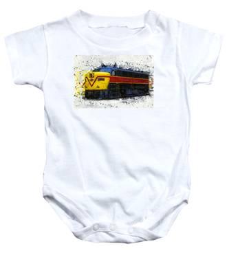 Loco #6777 Baby Onesie