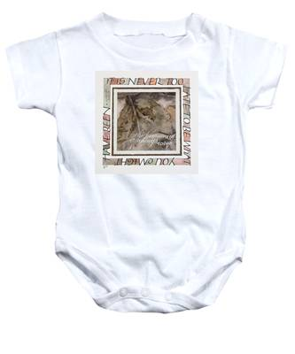 Never Too Late Baby Onesie