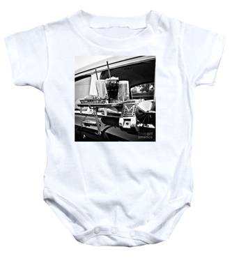 Night At The Drive-in Movies Baby Onesie