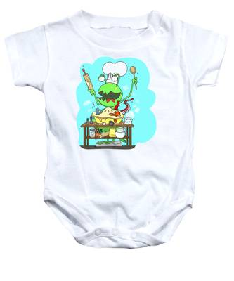 Peter And The Closet Monster, Baker Baby Onesie