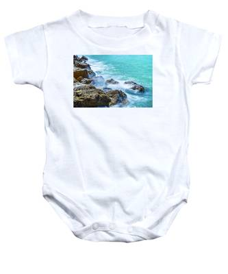 Sea Rocks In Montego Bay Baby Onesie