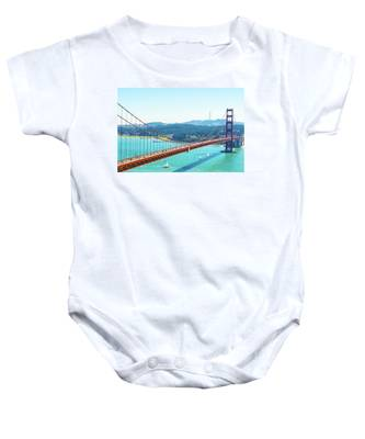 The Golden Gate Bridge I Baby Onesie
