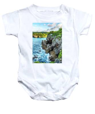 Welcome To Portland Jamaica Baby Onesie