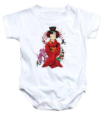 Geisha Baby Onesies