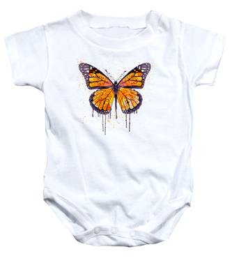 Monarch Butterfly Baby Onesies