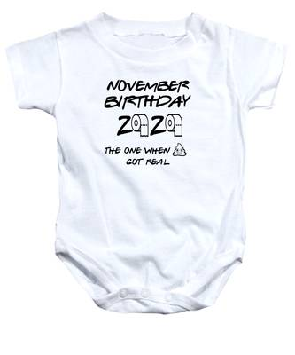 T-shirt Born in the year of the pandemic 2020 quarantine Onesie\u00ae baby shower gift Funny Virus Baby One Piece Gift
