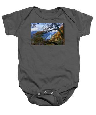 A Window To The Elbe In The Saxon Switzerland Baby Onesie