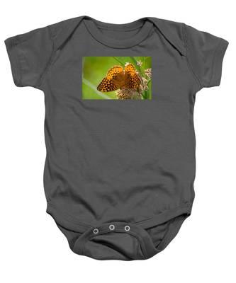 Great Spangled Fritillary Baby Onesie