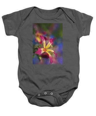 Bloomin Hong Kong Orchid Baby Onesie