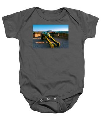 Cannon At The Fortress Koenigstein Baby Onesie