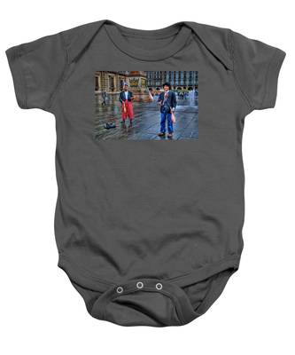 City Jugglers Baby Onesie