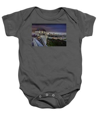 Gotham Griffith Observatory Baby Onesie