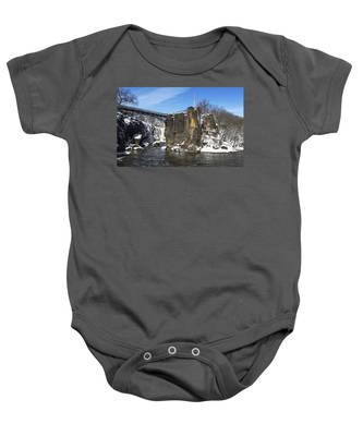 Great Falls In Color Baby Onesie