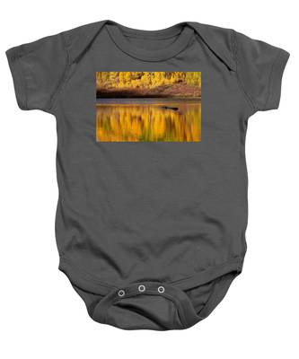 Liquid Gold Baby Onesie