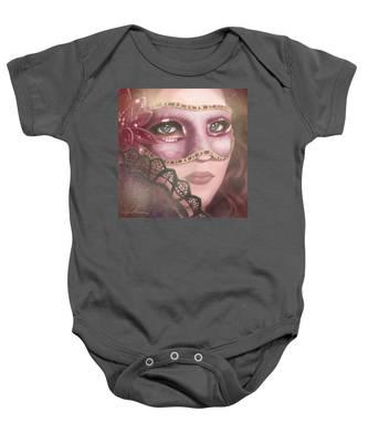 Masked Iv Baby Onesie
