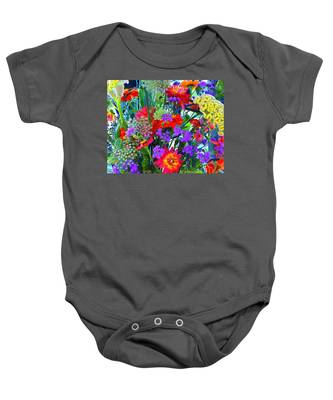 Mid August Bouquet Baby Onesie