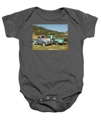 Old Timers Baby Onesie