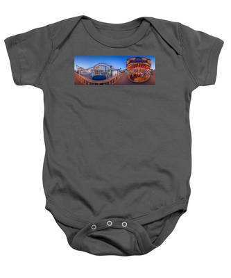 Panorama Giant Dipper Goes 360 Round And Round Baby Onesie