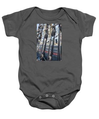 Pulley And Stay Baby Onesie