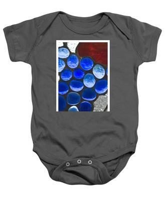 Red Blue Baby Onesie