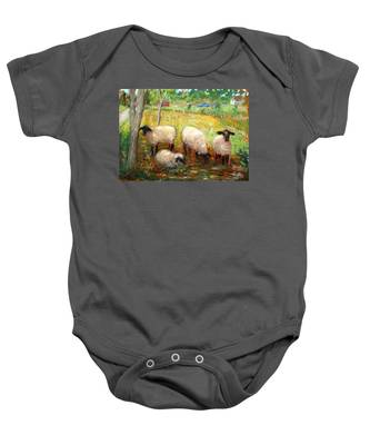 Sheep Baby Onesie