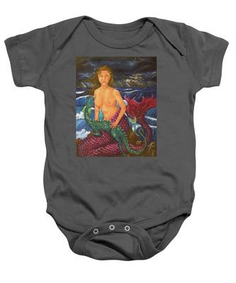 Storm And Peace Baby Onesie