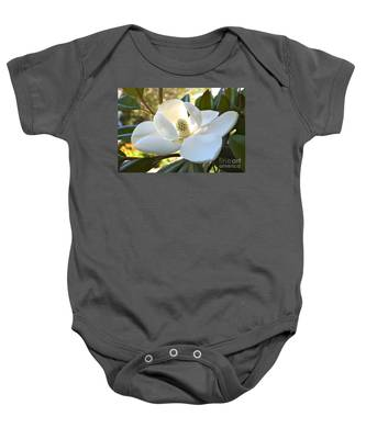 Sunlit Southern Magnolia Baby Onesie