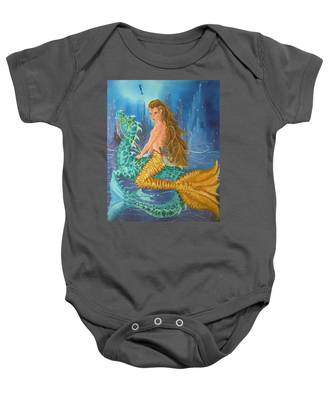 Tiger Lily Tails Baby Onesie